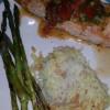 Salmon with Tomato Vinaigrette