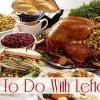 Happy Thanksgiving - Turkey Leftovers!
